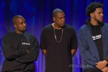 Kanye West, Rihanna, Nicki Minaj, J. Cole & More Announced As Owners Of TIDAL