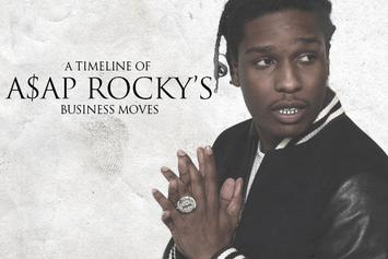 A Timeline Of A$AP Rocky's Business Moves
