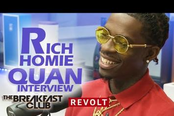 Rich Homie Quan On The Breakfast Club
