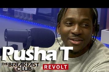 Pusha T On The Breakfast Club