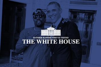 10 Other Rappers Who've Visited The White House