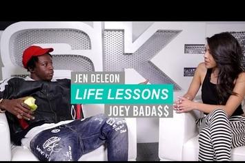 "Joey Bada$$ Gives His ""Life Lessons"""