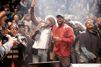 """Kid Cudi & Kanye West Had To Talk Things Out Before Working On """"The Life Of Pablo"""""""