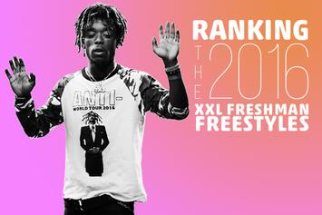 Ranking The 2016 XXL Freshman Freestyles