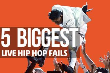 5 Biggest Live Hip Hop Fails