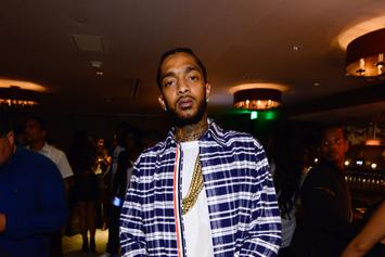 Nipsey Hussle Posts Selfie During Arrest