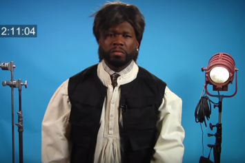 Watch 50 Cent Audition For The Part Of Han Solo On Conan