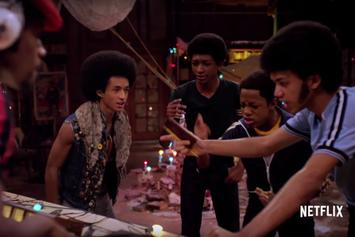 "Watch A New Trailer For Netflix's 70's Hip-Hop Series ""The Get Down"""