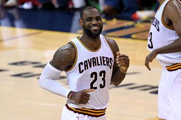 LeBron James Announces He's Resigning With The Cavs On A $100 Million Deal