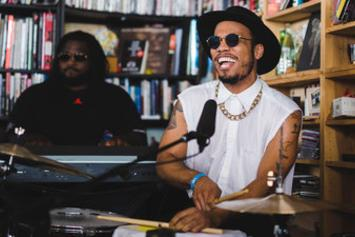 """Anderson .Paak """"Tiny Desk Concert"""" Video"""