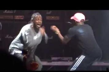 """Kendrick Lamar Brings Out Isaiah Rashad To Perform """"Free Lunch"""" AT FYF Fest"""