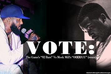 "Vote: The Game's ""92 Bars"" Vs. Meek Mill's ""OOOUUU"" (Remix)"