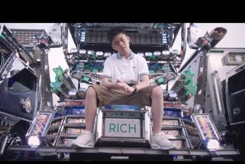 "Rich Chigga Feat. Ghostface Killah & Pouya ""Dat $tick (Remix)"" Video"