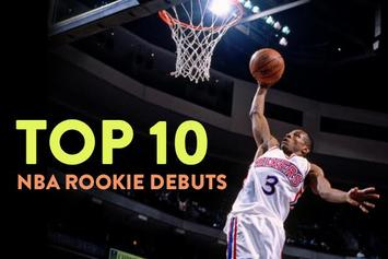 Top 10 NBA Rookie Debuts Of All Time