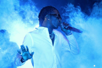 "Young Thug Meets Andre 3000 Backstage During ""HIHORSE'D"" Tour"
