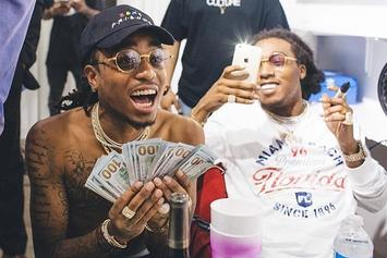 """Migos' """"Bad And Boujee"""" Hits Number One On Hot 100"""