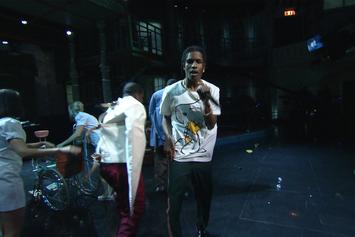 "A$AP Mob & Key! Perform ""Crazy Brazy"" On Stephen Colbert"