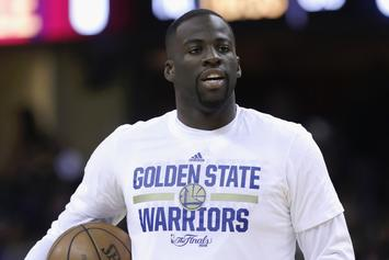 "Draymond Green Defends Kyrie Irving: ""[The Earth] May Be Flat"""
