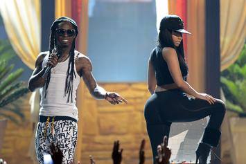 Nicki Minaj Announces Song With Lil Wayne & David Guetta