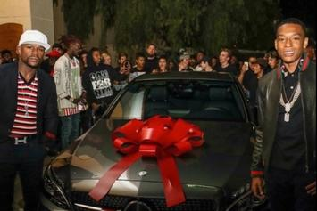 Floyd Mayweather Gets Young Thug To Perform At His Son's Epic 16th Birthday Party