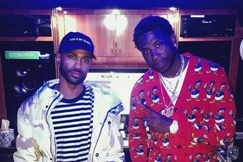 Gucci Mane & Big Sean Hit The Studio