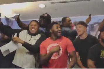 UNC Football Team Goes Berserk After Receiving Free Air Jordan 11s