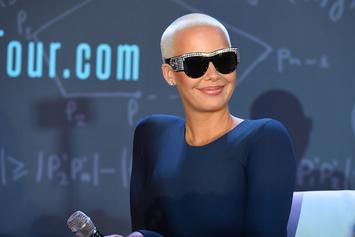 Amber Rose Claps Back At Piers Morgan's SlutWalk Criticism