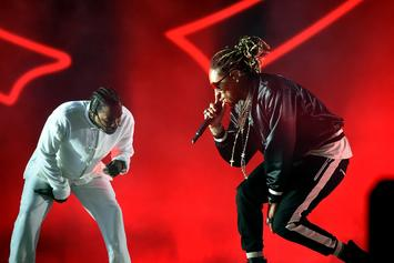 "Future Brings Out Kendrick Lamar for ""Mask Off"" at BET Awards"