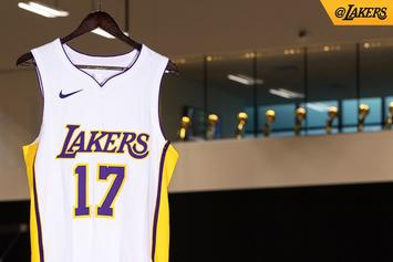 Los Angeles Lakers Debut Three Nike Uniforms For 2017-18