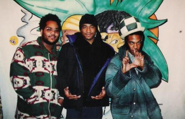 Maseo, Q-Tip and Busta Rhymes