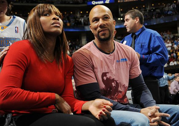 Common & Serena Williams