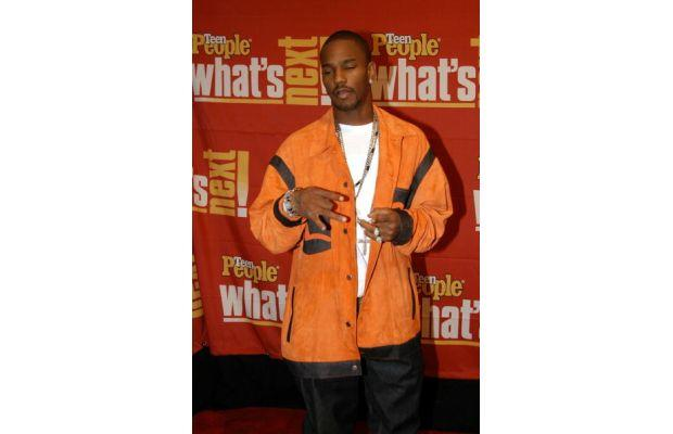 Cam'ron in orange suede