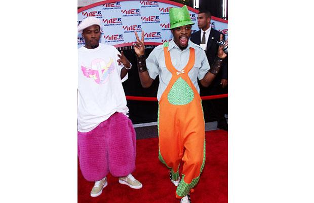 Outkast looking so silly, it's actually cool