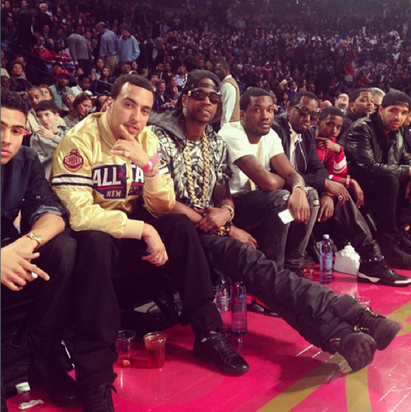 French Montana, 2 Chainz, Diddy and Drake