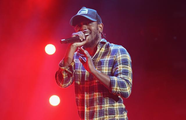 Kendrick Lamar at 2016 ESSENCE