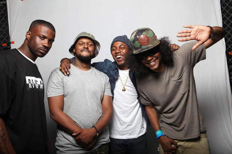 Black hippy (kendrick lamar, schoolboy q, jay rock and ab-soul)