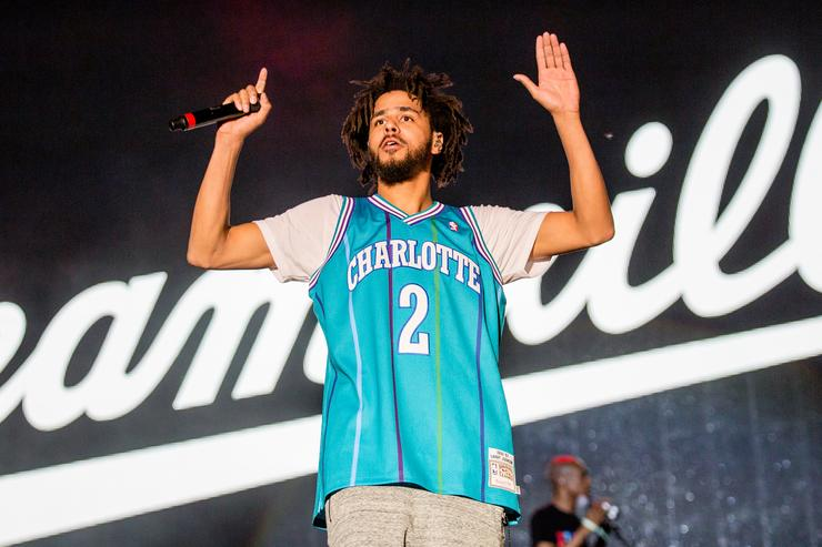 J. Cole at Bonnaroo