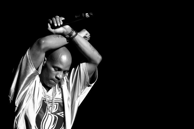 DMX performing at Bad Boy Family Reunion concert.
