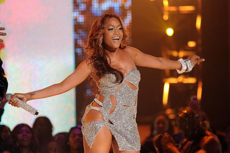 Trina performs onstage at BET's Rip The Runway 2010 at the Hammerstein Ballroom on February 27, 2010 in New York City.