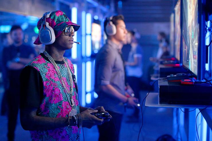 Big Soulja attends the XBox One E3 Showcase Party at The Majestic Downtown on June 15, 2015 in Los Angeles, California.