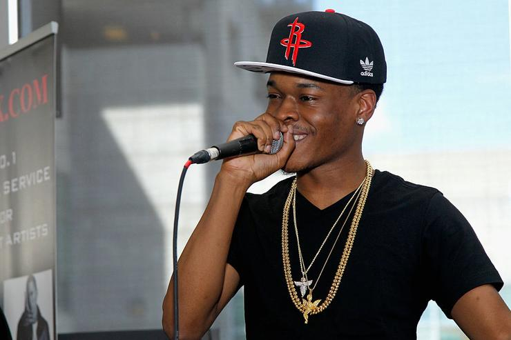 Hurricane Chris attends the MP3waxx.com Deejays & Producers Honors Luncheon at Vibes Lounge on September 20, 2014 in Atlanta, Georgia.