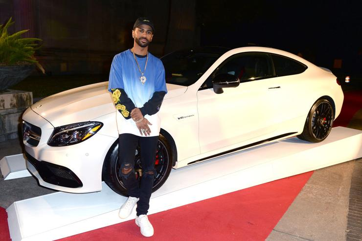 Big Sean at the Rolling Stone Live: Houston presented by Budweiser and Mercedes-Benz on February 4, 2017 in Houston, Texas.