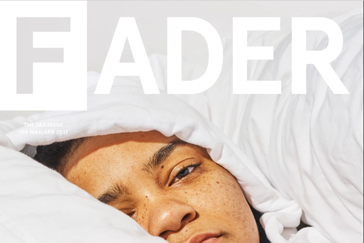 Young M.A covers The Fader sex issue.