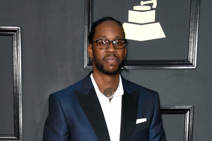 2 Chainz attends The 59th GRAMMY Awards at STAPLES Center on February 12, 2017 in Los Angeles, California.