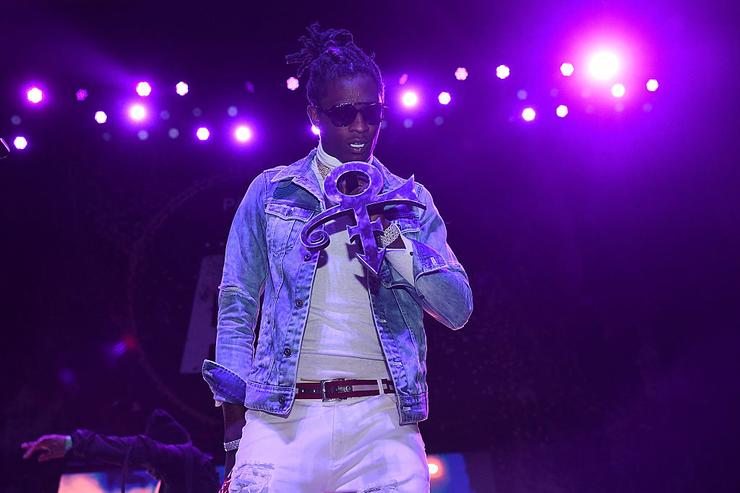 Young Thug performs at Pandora Presents: The ATL at The Tabernacle on May 5, 2016 in Atlanta, Georgia.