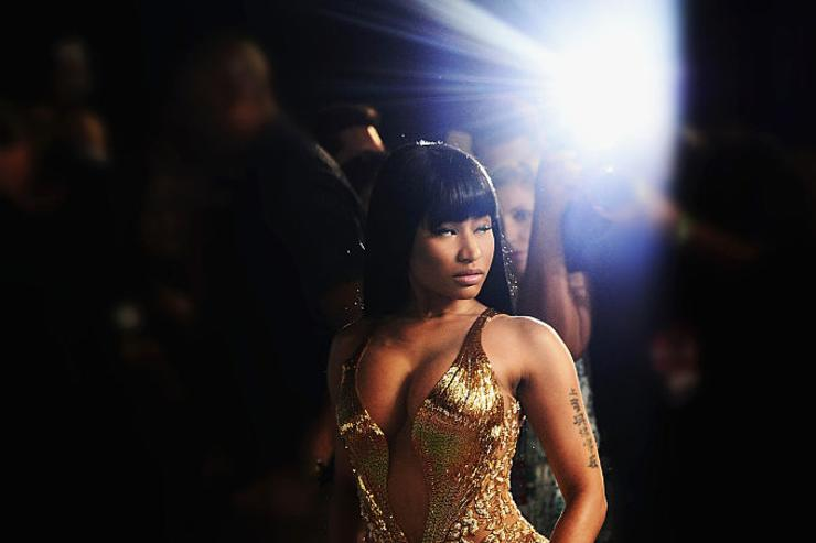 Nicki Minaj arrives at the 2015 MTV Video Music Awards at Microsoft Theater on August 30, 2015 in Los Angeles, California.