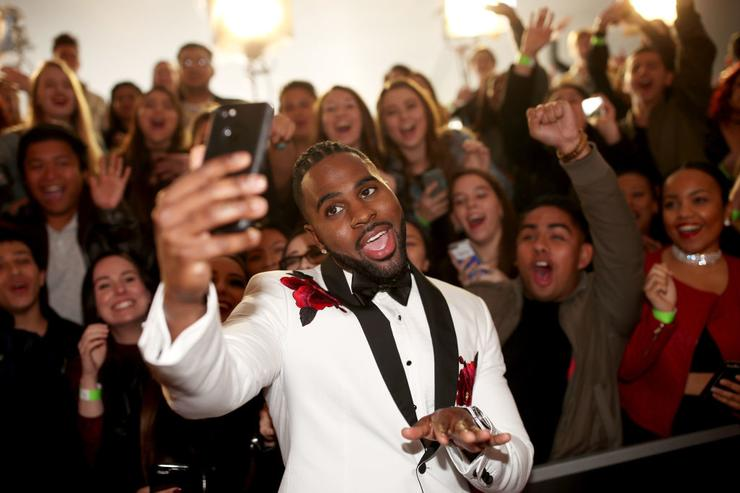 Singer-songwriter Jason Derulo attends the 2017 iHeartRadio Music Awards which broadcast live on Turner's TBS, TNT, and truTV at The Forum on March 5, 2017 in Inglewood, California.