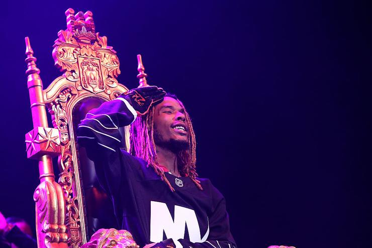 Fetty Wap performs onstage during 105.1's Powerhouse 2015 at the Barclays Center on October 22, 2015 in Brooklyn, NY.