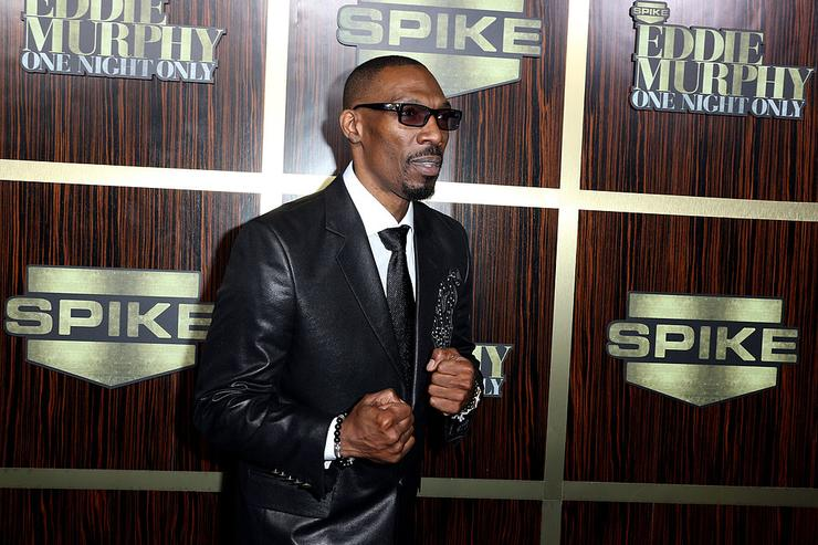 Charlie Murphy arrives at Spike TV's 'Eddie Murphy: One Night Only' at the Saban Theatre on November 3, 2012 in Beverly Hills, California.