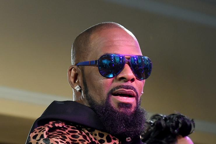 Recording artist R. Kelly attends the 2015 Soul Train Music Awards preshow at the Orleans Arena on November 6, 2015 in Las Vegas, Nevada